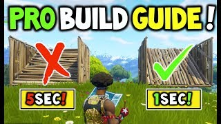 Download How to Build like a PRO In Fortnite Battle Royale V3.1+ (MASTER BUILDING Guide to help you WIN!) Video