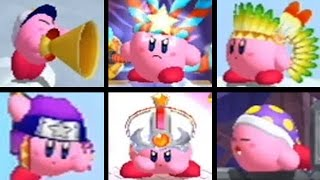 Download Kirby's Return to Dream Land - All Copy Abilities Video