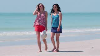 Download Denim & Co. Beach Hi-Low Tankini Swimsuit with Skirt on QVC Video