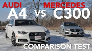 Download 2017 Audi A4 2.0TFSI Quattro vs 2017 Mercedes-Benz C300 4Matic Video