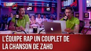 Download L'équipe rap un couplet de la chanson de Zaho - C'Cauet sur NRJ Video