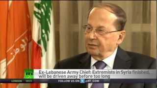 Download RT Exclusive Interview with General Michel Aoun on the situation in Syria Video