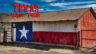 Download Top 10 WORST towns in Texas. The Lone Star state has some not so great towns. Video