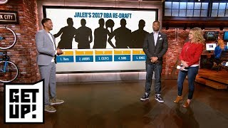 Download Jalen Rose's 2017 NBA re-draft: Who goes No. 1 overall? | Get Up! | ESPN Video
