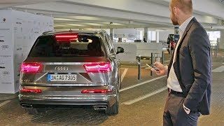 Download Audi Q7 (2018) Automated Parking Video
