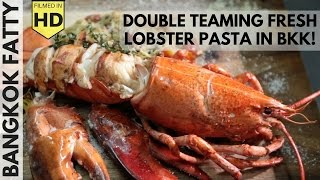 Download Double Teaming Fresh Maine Lobster with Mark Wiens in Bangkok! Video