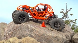 Download RC ADVENTURES - TANGO - Rear Wheel Steering 🔥 Backyard Rock Course Video