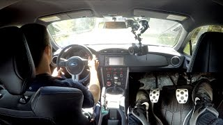 Download Driving the Subaru BRZ (With Foot Pedal POV) Video