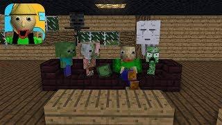 Download Monster School : BALDI'S HOUSE ESCAPE CHALLENGE - Minecraft Animation Video
