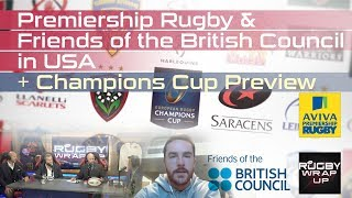 Download Premiership Rugby in USA & Champions Cup UPDATE Video
