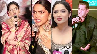Download Bollywood Celebs Latest Reaction On Kangana Ranaut's Manikarnika Controversy Video