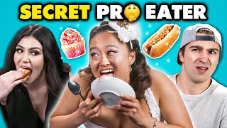 Download Competitive Eater DESTROYS Regular People | People vs. Food Video