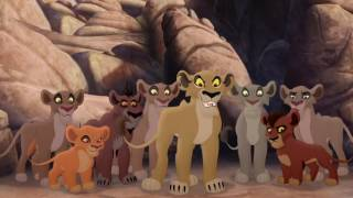 Download Lion Guard: Lions of the Outlands Ending - Kion VS Zira & the Outsiders! HD Clip Video