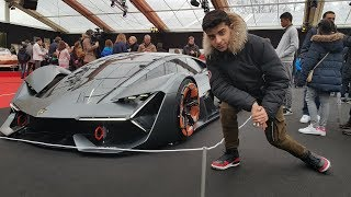 Download LAMBORGHINI TERZO MILLENNIO - Paris Concept Cars 2018 Video