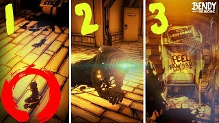 Download Every NEW SECRET in Bendy Chapter 1-3 Remastered! (BATIM 2018 Updates) Video