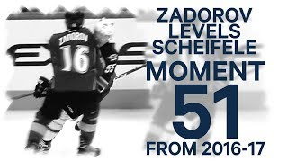 Download No. 51/100: Zadorov levels Scheifele Video