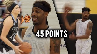 Download Female Hooper CHALLENGES BDot in Celebrity Game! BDot Vs White Iverson CRAZY BUCKET Battle! Video