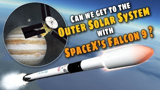 Download SpaceX Falcon 9 to the Outer Solar System - All you need to know! - KSP Simulation Video