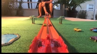 """Download HOT WHEELS SUPER LAUNCH SPEED TRACK """"WIN OR CRASH"""" Video"""
