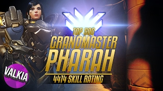 Download Top 500 Grandmaster Pharah [4414] || 57% Kill Participation / 46 Elims || Valkia Video