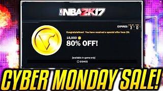 Download CYBER MONDAY DEALS ON NBA 2K17!? VC SALE?! Video