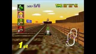 Download [TAS] Mario Kart 64 - Mushroom Cup - 1P, GP, 150cc in 3'30″38, twitch.tv/weatherton Video