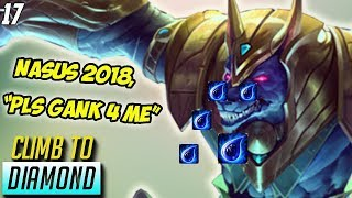 Download Nasus Cries for Assistance, Master Yi BANNED, Tryndamere JUNGLE- Climb to Diamond #17 Video