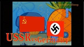 Download USSR vs GERMANY [Explained by Spongebob] Video