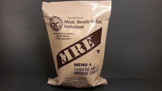 Download 2008 MRE Vomelet Review (Veggie Omelet) One of the Worst Meal Ready To Eat Menus Taste Test Video