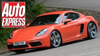 Download Porsche 718 Cayman S review: has Porsche's small coupe lost its soul? Video