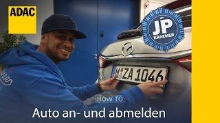 Download ADAC How To Auto an- und abmelden mit Jean Pierre Kraemer I Folge 33 Video