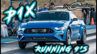 Download 2019 Mustang BABY ProCharger running 9's! Video