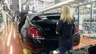 Download Производство Mercedes-Benz S-Class W222 часть 2 Video