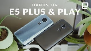 Download Moto E5 Plus and E5 Play Hands-on Video