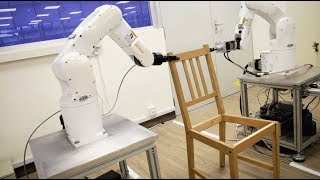 Download Robot by NTU Singapore builds an IKEA chair Video