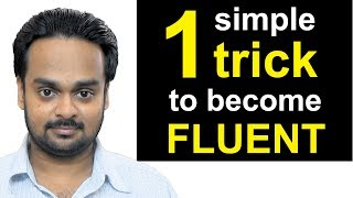 Download 1 Simple Trick to Become Fluent in English - the JAM Technique - How to Be a Confident Speaker Video