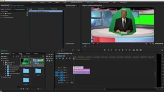 Download Premiere Pro Virtual News Desk Tutorial Video