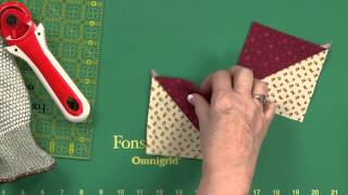 Download Sew Easy: Quick Hourglass Units Video