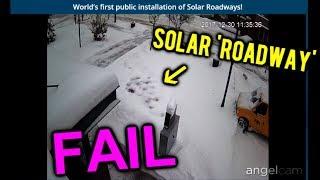Download Solar roadways, NEVER shovel snow agai... oh Video