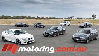 Download 2017 BMW M140i, M2, M3, M4 GTS, M5, M6, X6M Track test Video