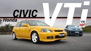 Download Honda Civic VTi e VW up! TSi: o reencontro! Video