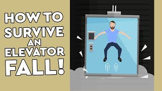 Download Can You Survive An Elevator Fall By Jumping? Debunked Video