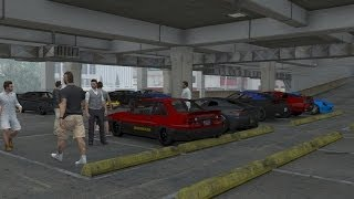 Download Grand Theft Auto V Online | Street Car Meet Pt.2, New Clothes, Car Wash, Cruise & Drag Racing Video