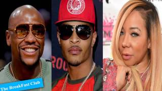 Download T.I's Responds To Tiny Dancing With Floyd Mayweather | Kanye West Video