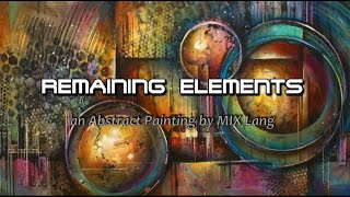 Download Painting Abstract Design, Random Applications, Techniques Video