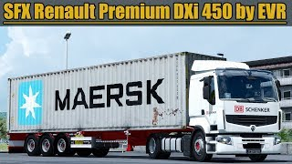 Download ✅ [ETS2 1.31] SFX Renault Premium DXi 450 Engine Sound by EVR Video