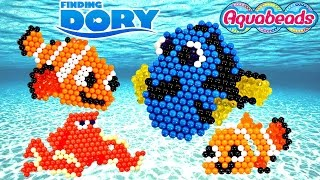 Download Disney Pixar FINDING DORY Aquabeads * Making Crafts with Amy Jo on DCTC Video