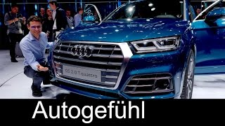 Download All-new Audi Q5 first look Exterior/Interior Preview Paris Motor Show - Autogefühl Video