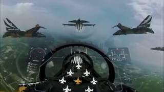 Download 공군 블랙이글스 곡예비행을 VR 영상으로 봤더니 이렇게 환상적인 장면들이! / 공군제공 Video