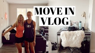 Download COLLEGE MOVE IN VLOG | road trip, decorating, meet my ROOMMATE! Video